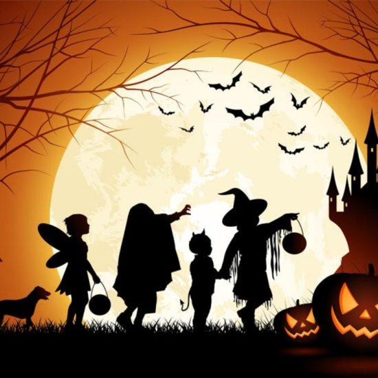Превращение в день Хеллоуина
